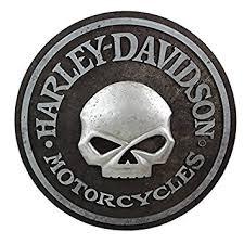 amazon com harley davidson skull pub sign hdl 15311 harley