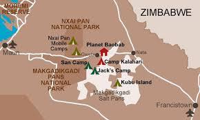 africa map kalahari witness africa botswana destinations