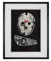 Sofa King Danger Doom by The Mask Is Like Doom Mf Doom And Jason Voorhees Tribute Poster