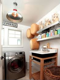 Vintage Laundry Room Decorating Ideas Vintage Laundry Room Decor With Ceiling Vintage Light Decolover Net