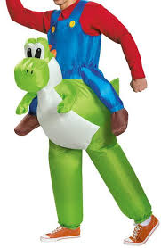 Inflatable Halloween Costumes Mario Inflatable Costumes Fat Inflatable Yoshi Costume