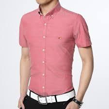 fashion trends banded collar white mens short sleeve dress shirt