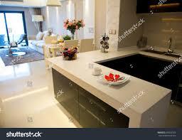 a modern kitchen clean modern kitchen modern home stock photo 605922329 shutterstock