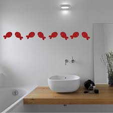 fish wall decals for bathroom color the walls of your house fish wall decals for bathroom fish bathroom wall stickers by mirrorin notonthehighstreet com