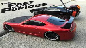 fast and furious 7 cars fast and furious 7 dodge charger off road rc car u0026 toyota supra