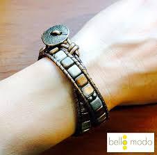 leaf wrap bracelet images Wrap bracelet tutorial bello modo jpg