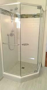 skyline finger pull handle frameless shower door handles