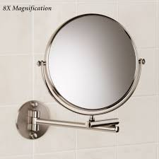 mirrors classic wall mount extending x magnifying bathroom mirror