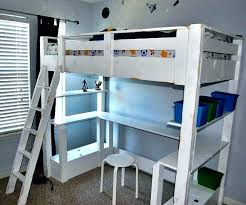 used bunk bed with desk loft bed sale urbancreatives
