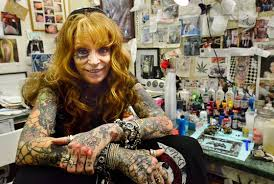 southern new jersey tattoo parlors see the rise of ladies of the