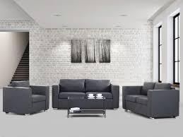 3 piece sofa set living room sofa set gray helsinki
