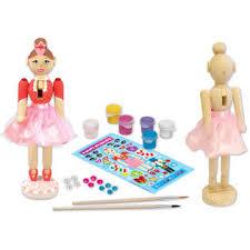 Nutcracker Crafts For Kids - nutcracker ballerina wood craft kit home crafts u0026 hobbies
