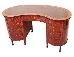 S Shaped Desk Antique Late 19th Century Mahogany Kidney Shaped Desk S S Timms
