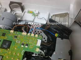 nec projector fault m260x dynamic contrast error