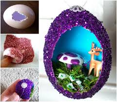 to diy vintage egg ornament tutorial