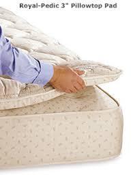 royal pedic pillowtop pads