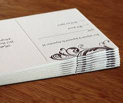 paper for invitations thick paper for letterpress wedding invitations