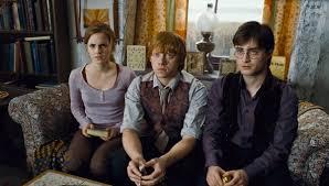 harry ron hermione u0027s unbreakable friendship pottermore