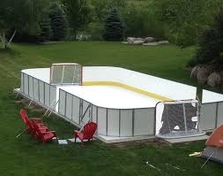 How To Make An Ice Rink In Your Backyard Learn More About Synthetic Ice D1 Backyard Rinks