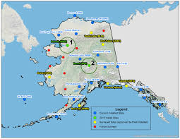 Barrow Alaska Map by Climate Change Alaska Sensor Network Records Changing Environment