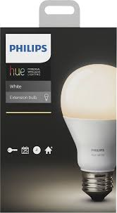 Best Place To Buy Light Bulbs Philips Hue White A19 Smart Led Bulb White 455295 Best Buy