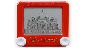 india on an etch a sketch you u0027ve never seen it like this before