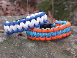 make survival bracelet images How to make a two color survival bracelet 14 steps jpg