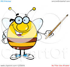 bees clipart teacher pencil and in color bees clipart teacher