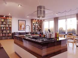 modern island kitchen kitchen classy black granite countertop with white island has