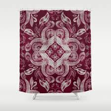 Dark Purple Shower Curtain Shabby Chic Shower Curtains Society6