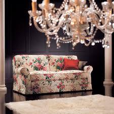 canapé classique tissu canapé classique de style cottage en tissu 2 places myto cava