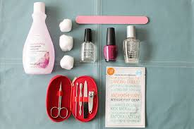 my 1 hint to mastering the at home mani hint of lavender