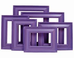 Shabby Chic Picture Frames Wholesale by Purple Picture Frame Etsy