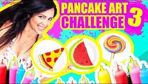 Challenge Reto Dibujos Que Se Comen Pizza Sandía Mascota Y Más Pancake