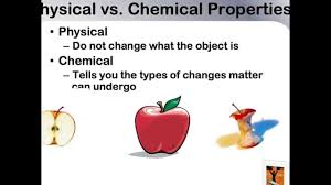 physical and chemical properties of matter youtube