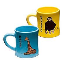 baby mugs wildini bittymugs giraffe chimpanzee toddler coffee