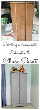 can i use chalk paint on laminate cabinets orc week 2 painting a laminate cabinet with chalk paint