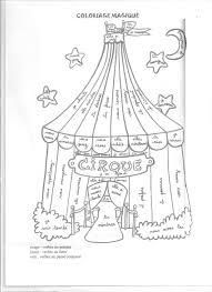 cirque 1 001 jpg 1700 2338 coloriage magique pinterest