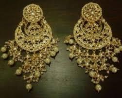 chandbali earrings bali earrings traditional kundan chand bali earrings online