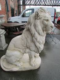 lions statues for sale antiques atlas pair of stunning large lions