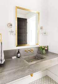 Master Bathroom Cabinet Ideas Concrete Bathroom Vanity Best 25 Countertops Ideas On Pinterest