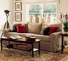 pottery barn ottoman coffee table laminate wooden floors as