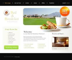 website template 22056 bed and breakfast custom website template