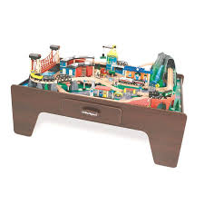 imaginarium classic train table with roundhouse outstanding table for wooden train set images best image engine