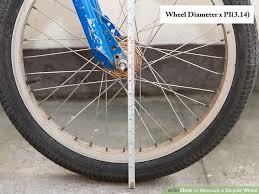 Do Car Tires Have Tubes 3 Ways To Measure A Bicycle Wheel Wikihow