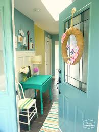 the happy housie paint colors front door aegean teal by