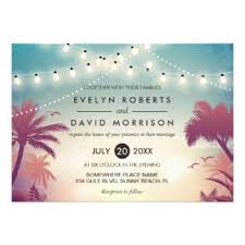 palm tree wedding invitations palm tree wedding invitations announcements zazzle co uk