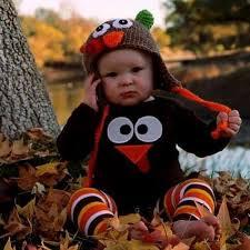 baby crochet turkey hat cover thanksgiving photo prop