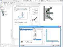 steel connection structural software fin ec fine