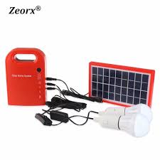 aliexpress com buy portable 3w mini solar home system solar
